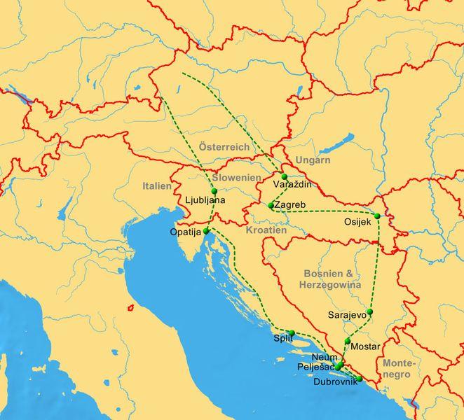Italien Bosnien