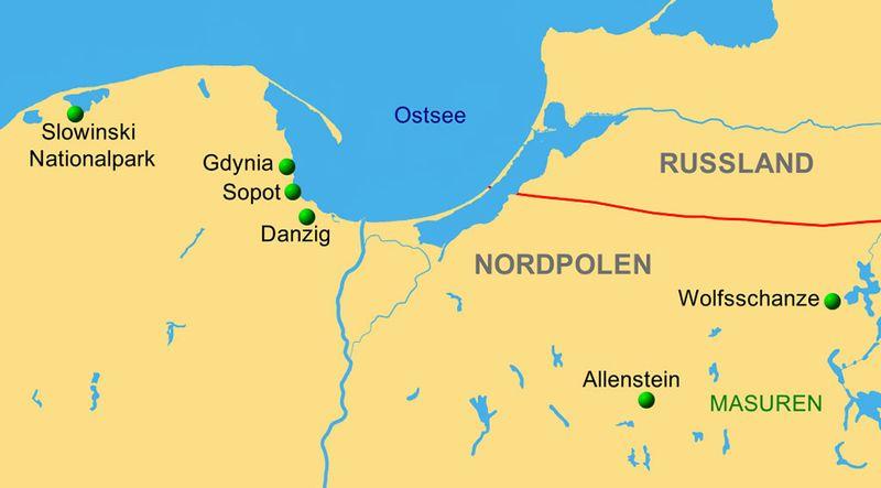 Wolfsschanze Karte.Witamy Willkommen In Nordpolen Reiseservice Vogt