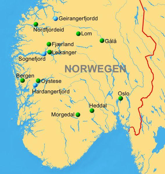 Wildes Norwegen Land Der Fjorde Reiseservice Vogt